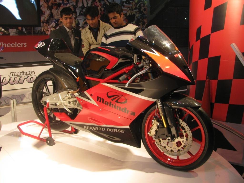 Mahindra concept bike