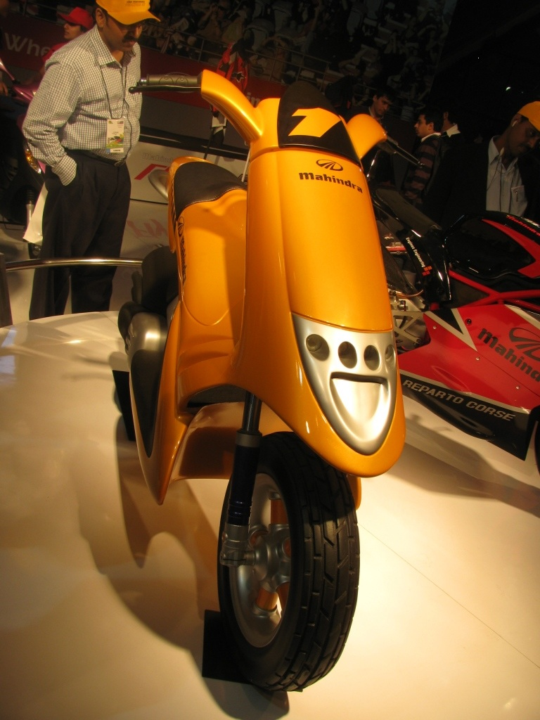 Mahindra concept scooter
