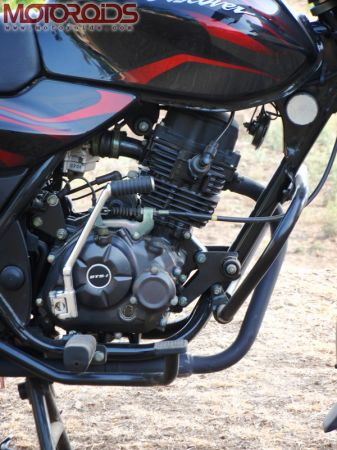 Bajaj Discover 150 Engine
