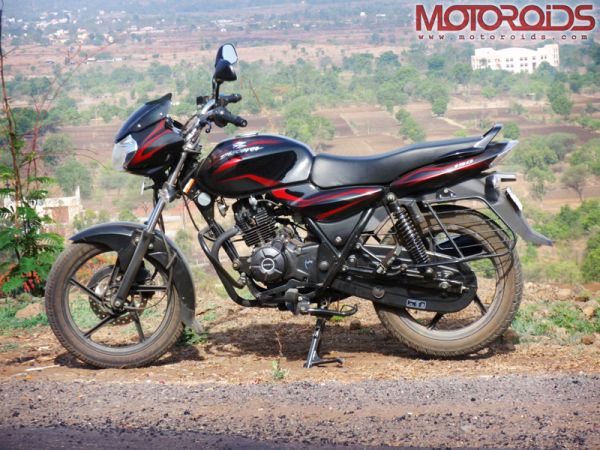 Bajaj Discover 150 - Side View