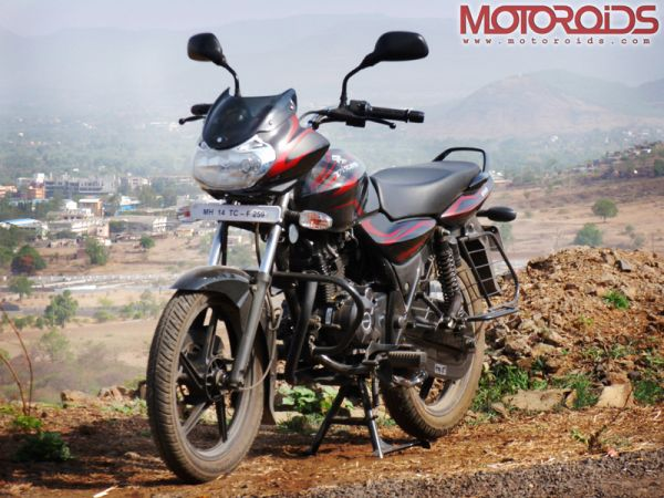 Bajaj Discover 150 Front Side View