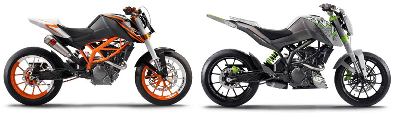 bajaj KTM bikes to be launched in 2011