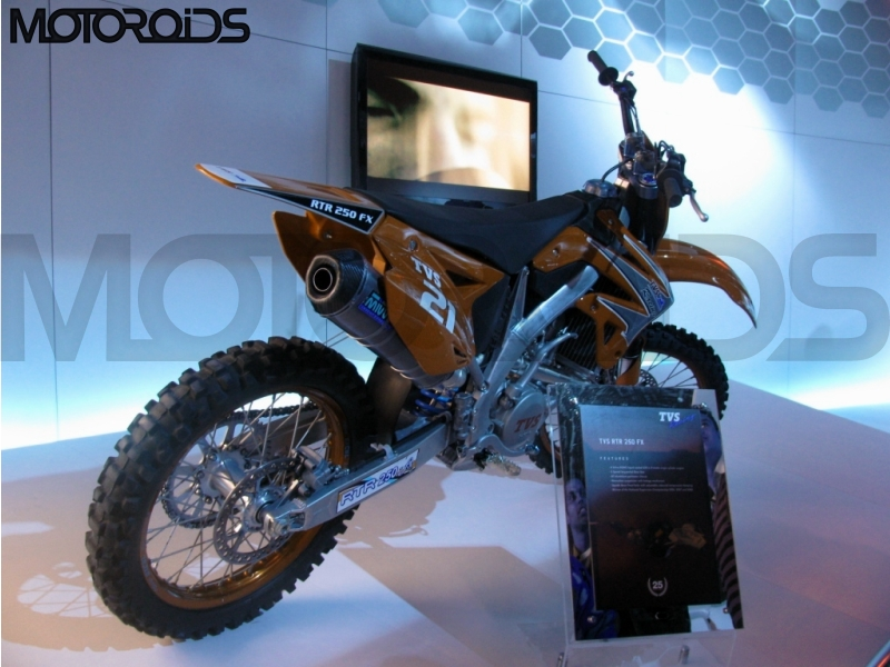 TVS 250cc dirt bike / TVS Apache RTR 250EX