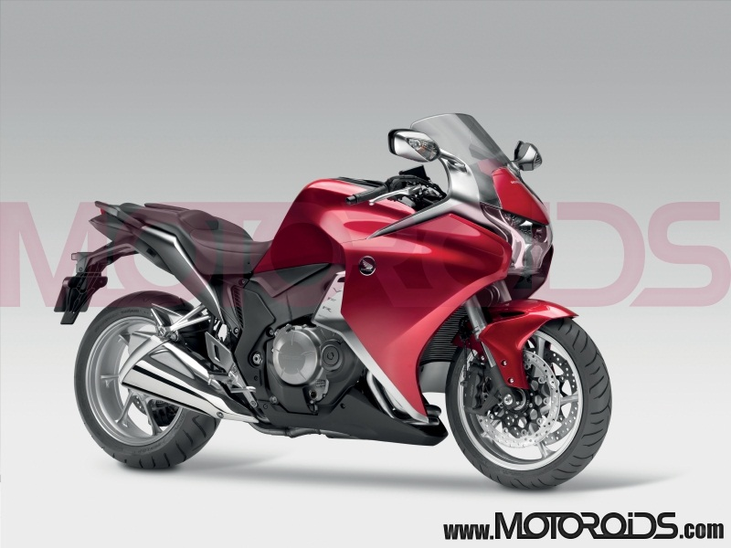 Honda VFR1200F for India at Auto Expo 2010