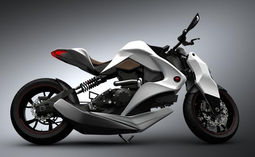 igor chak's hybrid motorcycle concept, motoroids