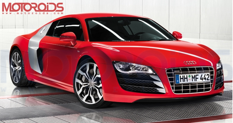 Audi R8 V10 for India at Auto Expo 2010