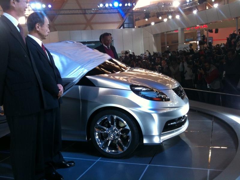 honda small car unvieled at 2010 auto expo