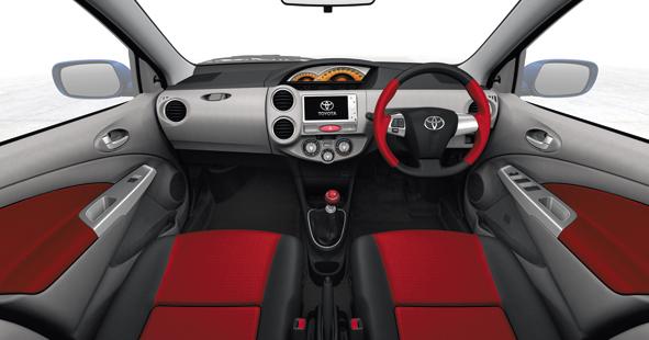 Toyota Etios interiors