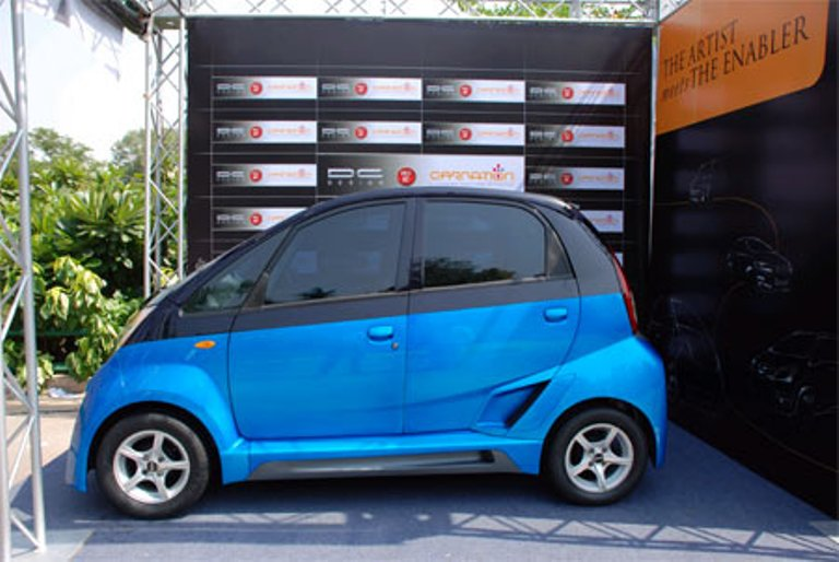 Modified Nano: dilip chhabria