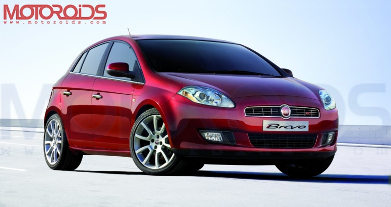 FIAT Bravo for India at Auto Expo 2010