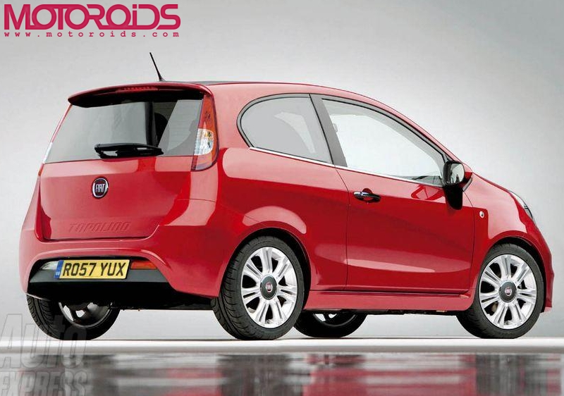 FIAT's Topolino small car to be launched in India by 2011 - motoroids.com