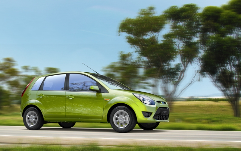 Ford Figo On Road Action Shot