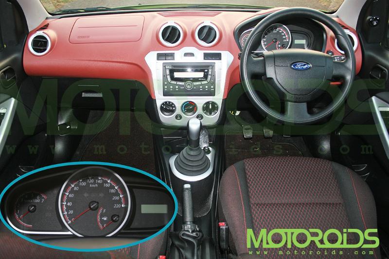 Ford Figo Console