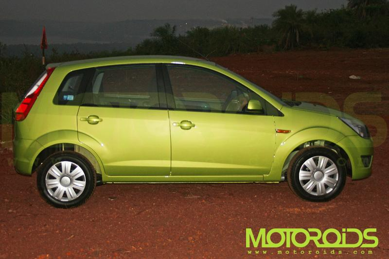 Ford Figo Side View