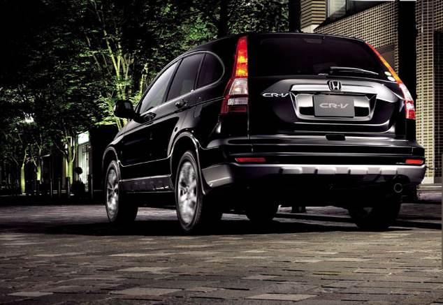 honda, CR-v, CRV, rear, bumper, facelifted, car, motoroids