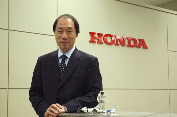 Honda New CEO