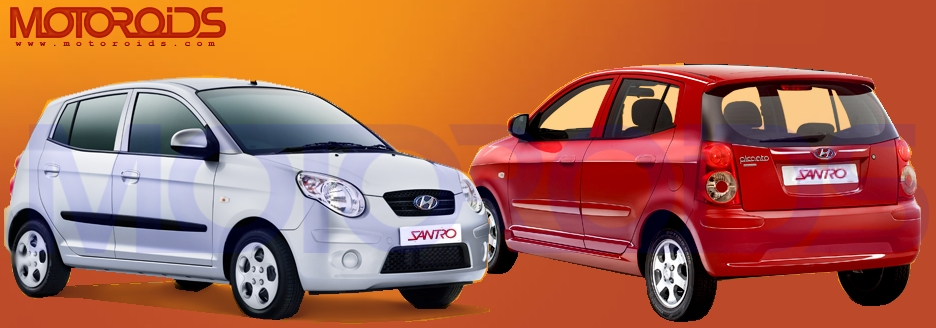 santro, hyundai, 2010, new car, india, motoroids,