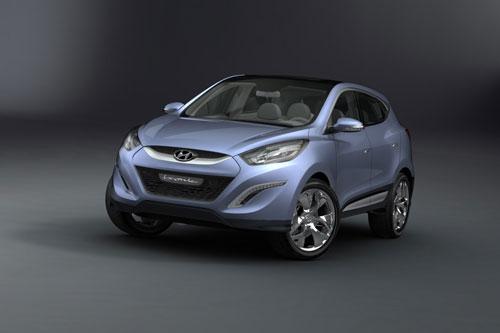Hyundai IX Onic Concept - www.motoroids.com