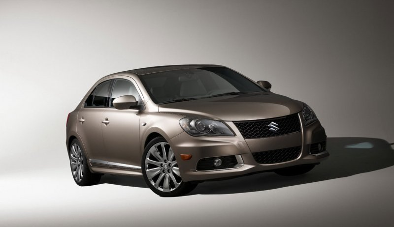new Suzuki Kizashi D-Segment sedan