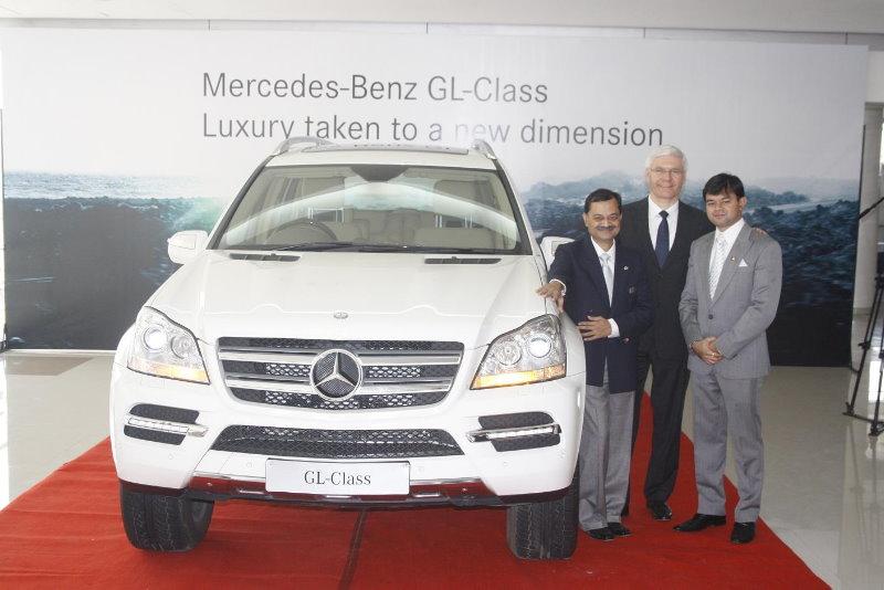 Mercedes Benz GL Class launch