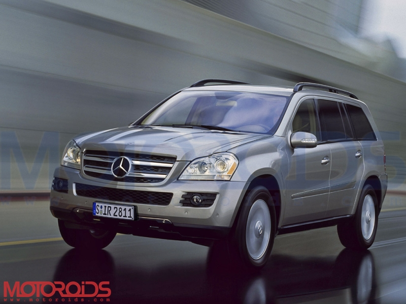 Mercedes-Benz GL-class for India at Auto Expo 2010