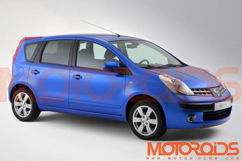 The V-platform based MPV will replace the 'Note' in the global market and may make it to India as well