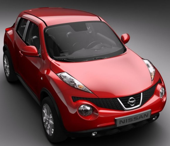 nissan showcases its Juke which is based in the Micra's V platform