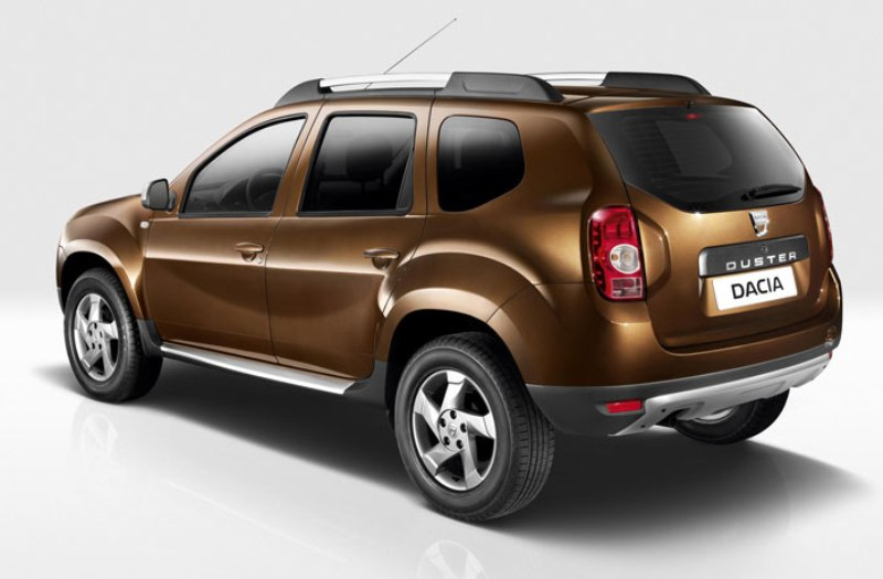 renault dacia duster - Back side