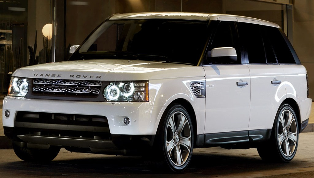 the 2010 Range Rover
