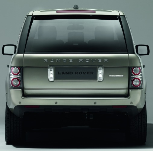 the 2010 Range Rover - Rear