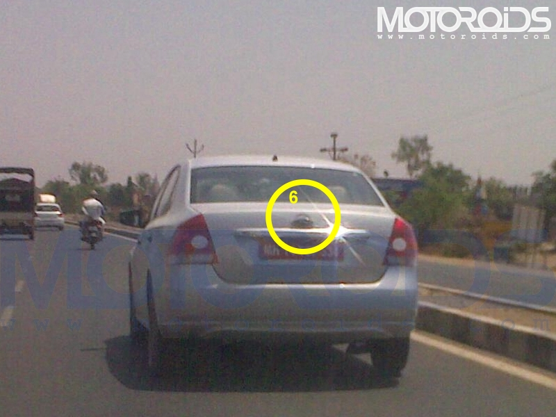 Volkswagen Polo sedan for India caught testing - www.motoroids.com
