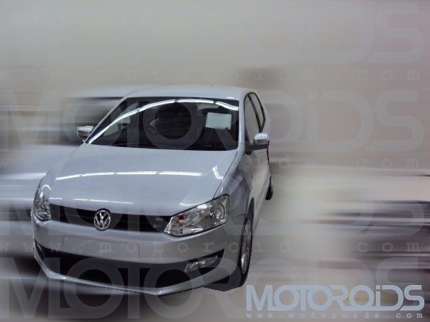 Volkswagen Polo 1.2 India revealed - www.motoroids.com
