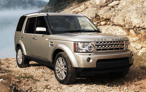 Land Rover at Auto Expo