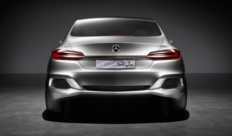 AMG is developing an entry level performance saloon based on the styling of the Mercedes Benz F800 style concept