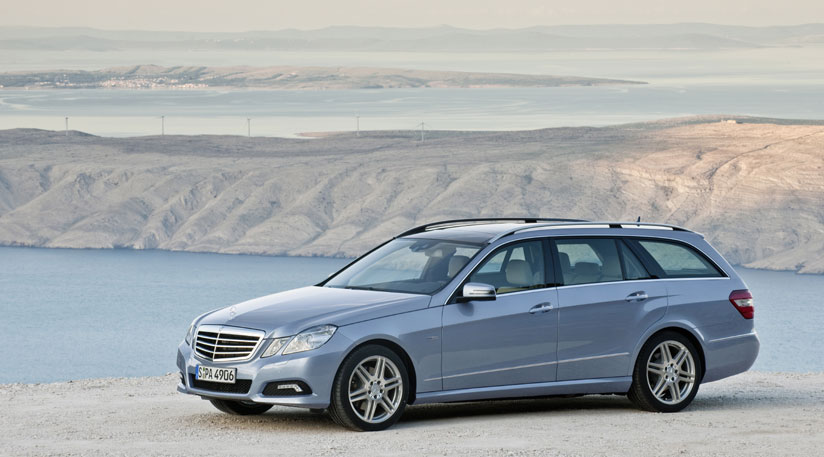 Official pictures of the 2010 Mercedes E-Class Estate