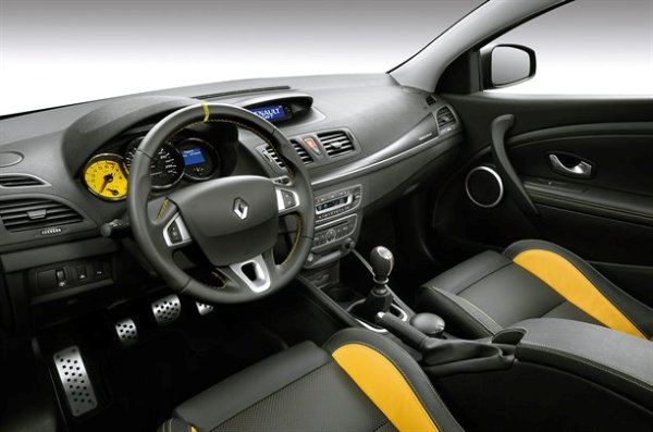 the new Megane 250 Interior