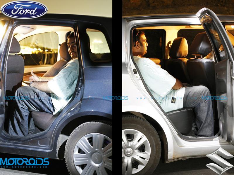 Ford Figo - Passenger Seats