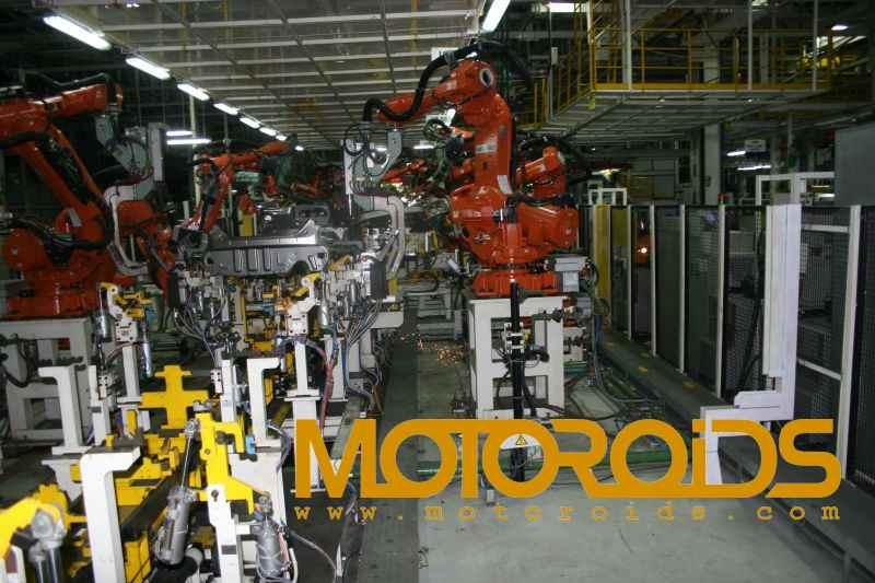 Ford India's Chennai plant