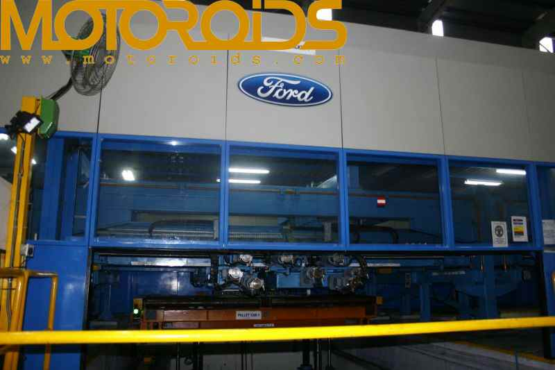 Ford India's Chennai plant, see how your figo, fiesta and endeavour is made at the assembly line
