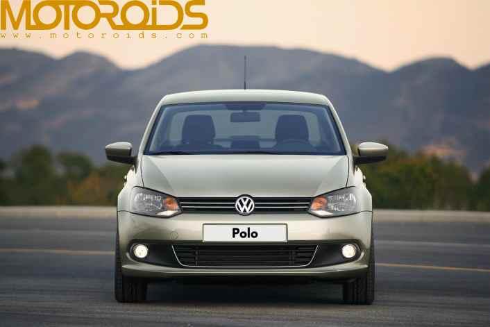 Volkswagen Polo sedan Vento official pictures