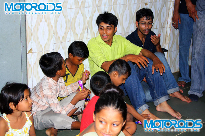 Motoroids with childrens