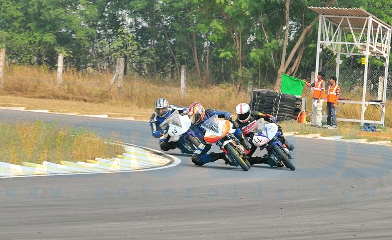 Sarath kumar races for ten10 racing