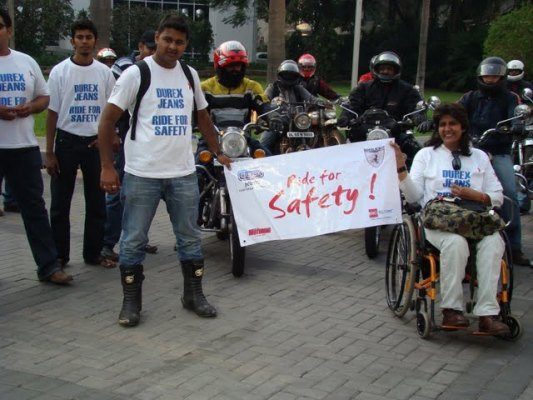deepa malik, ride for safety