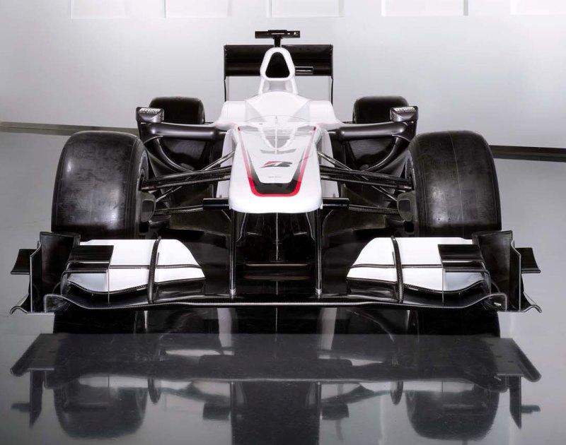2010 bmw sauber f1 car
