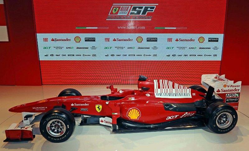 2010 ferrari f1c car