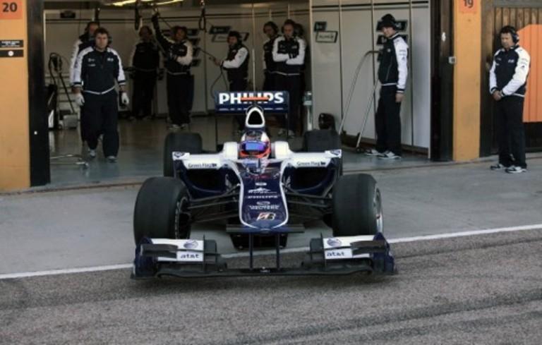 2010 williamsf1 car