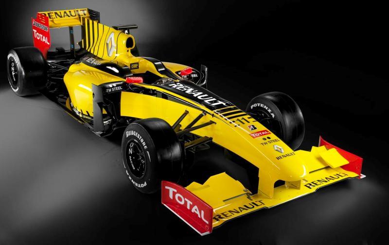 2010 renault f1 car