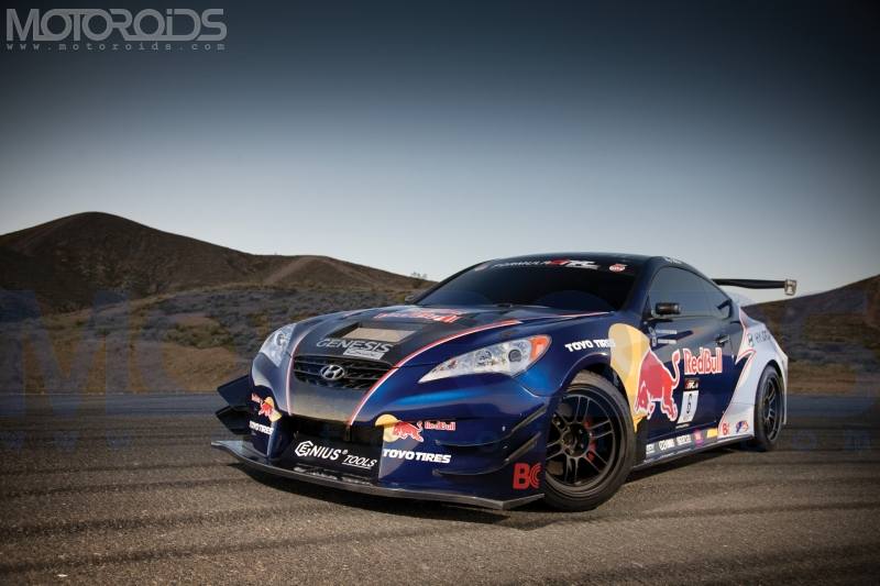 2010 Rhys Millen Racing Hyundai Genesis Coupe Drift Car