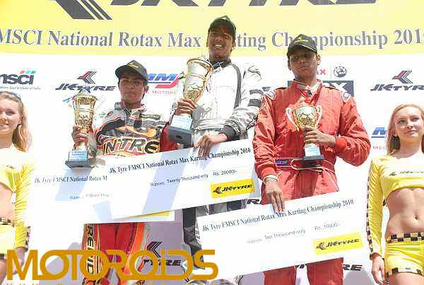JK Tyre Rotax Go Carting Championship