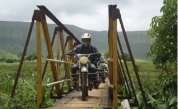 Monsoon Madness - an annual event for bikers to get their machines out in the pouring rains